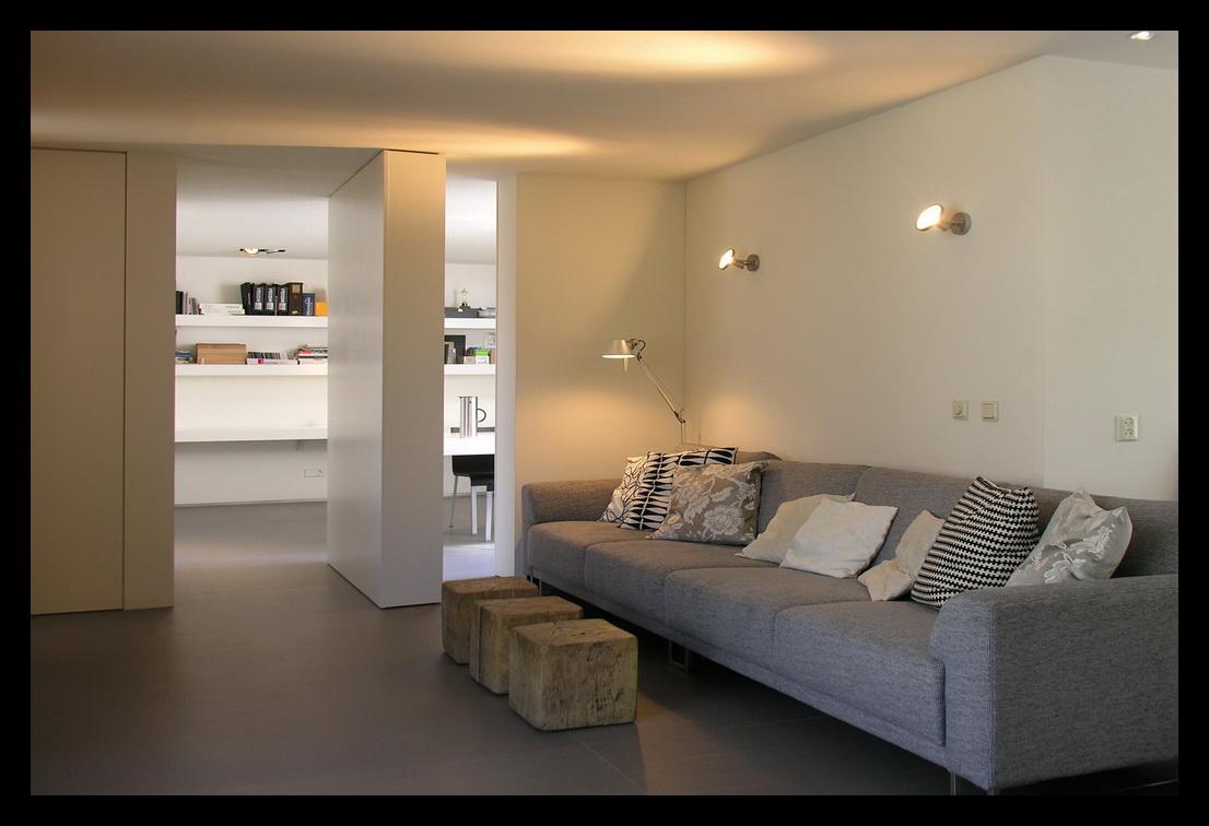 Leonardus interieurarchitect kantoor for Kantoor in woonkamer