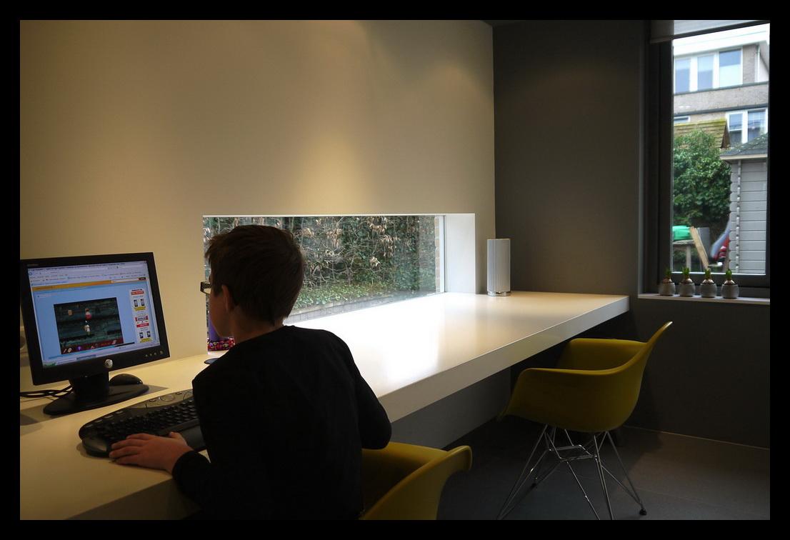 Leonardus interieurarchitect aanbouw werkkamer - Zoom ontwerp ...