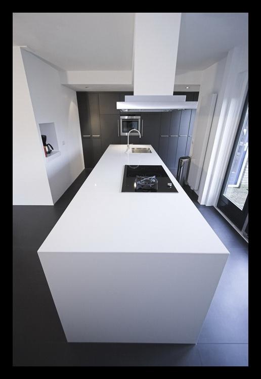 Keuken en woonkamer hoogezand - Lounge en keuken in dezelfde kamer ...
