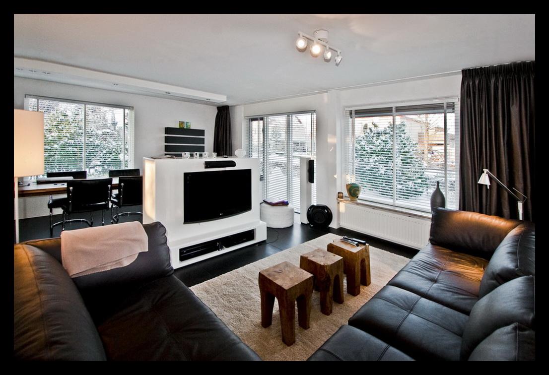 Kookeiland in woonkamer - Keuken en woonkamer in dezelfde kamer ...
