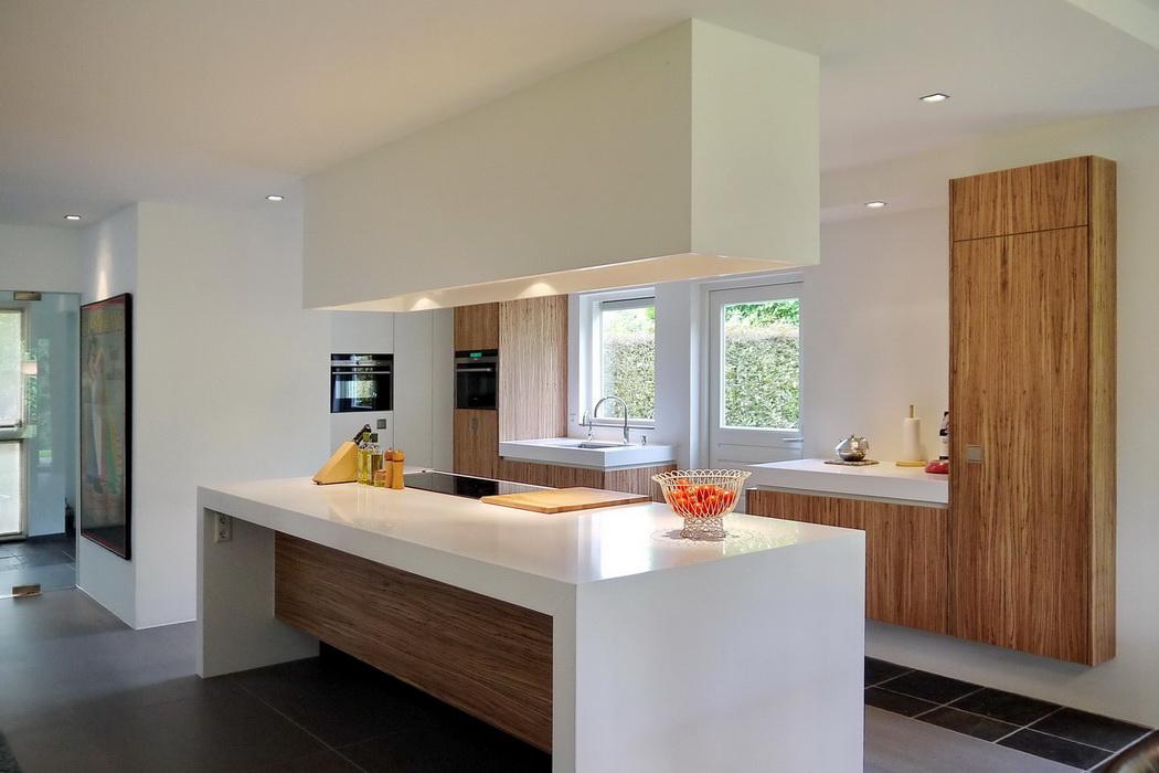 Leonardus interieurarchitect keuken met kookeiland - Keuken kookeiland ontwerp ...
