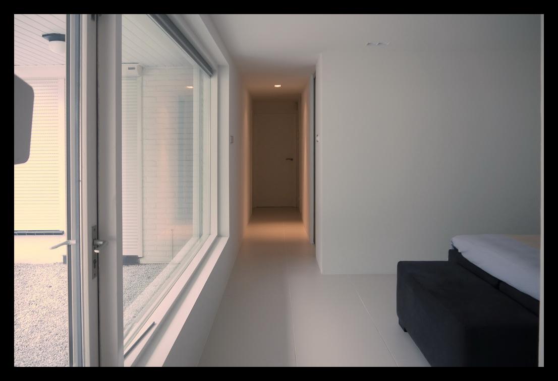 Leonardus interieurarchitect inloopkast for Slaapkamer met badkamer