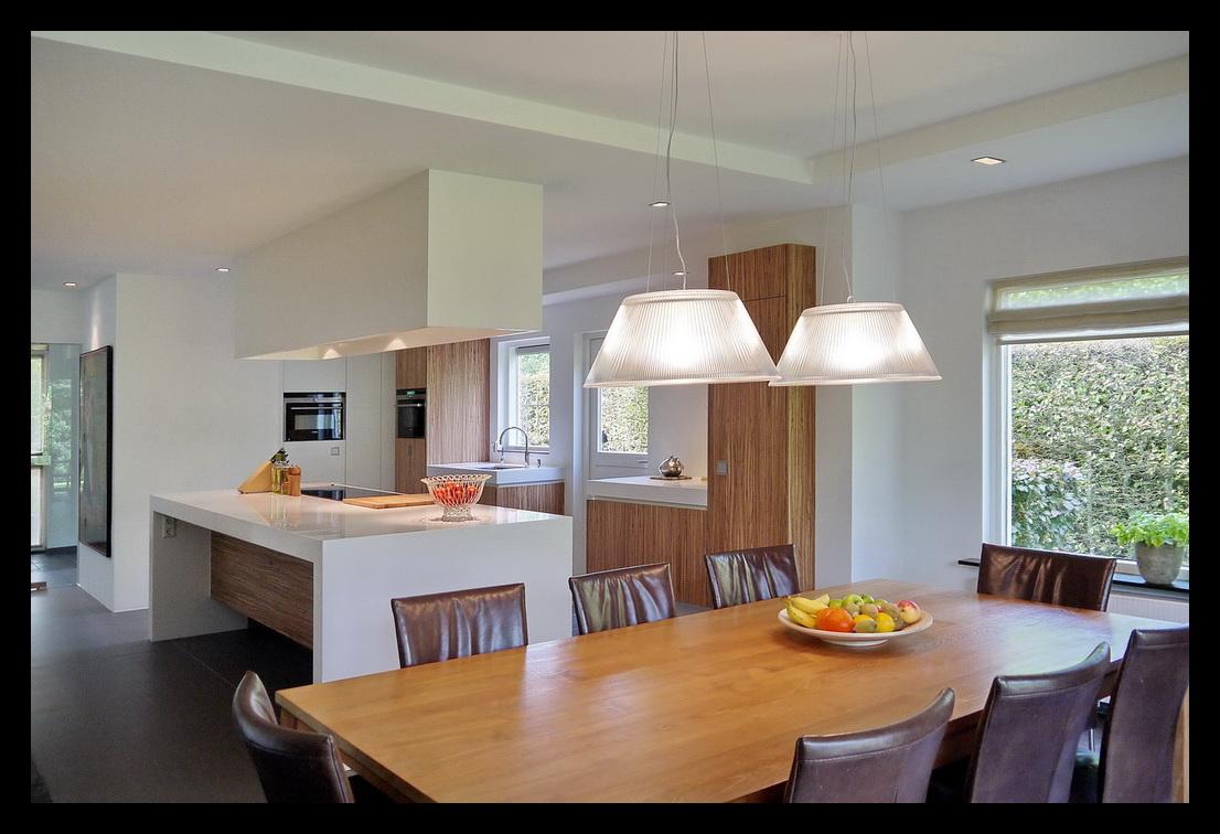 Zwevende Open Keuken : Leonardus interieurarchitect keuken met kookeiland