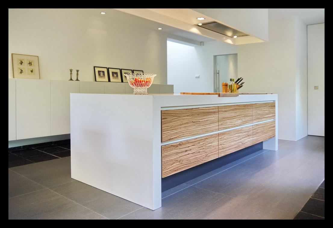 Kookeiland In Woonkamer : Leonardus interieurarchitect keuken met kookeiland