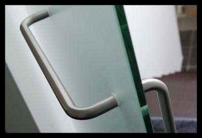 badkamer-glazen deur