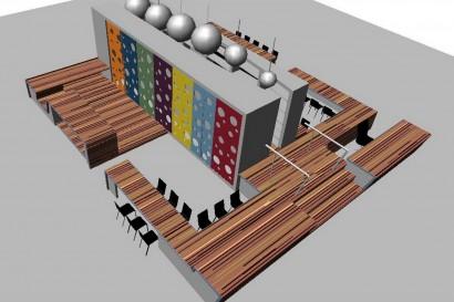 interieurarchitect-interieuradvies-binnenhuisarchitect-omgeving-Breda-ontwerp-basisschool-ontdekruimte-multifunctioneel-bijzonder-gering-budget-kleur-concept
