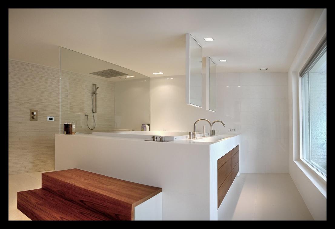 Inloopkast In Slaapkamer : Inloopkast badkamer en slaapkamer leonardus interieurarchitect